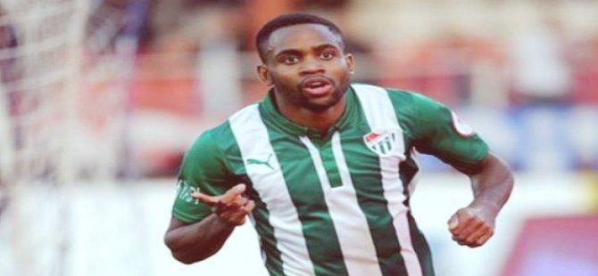 Cedric Bakambu'nun gönlü Bursaspor'la
