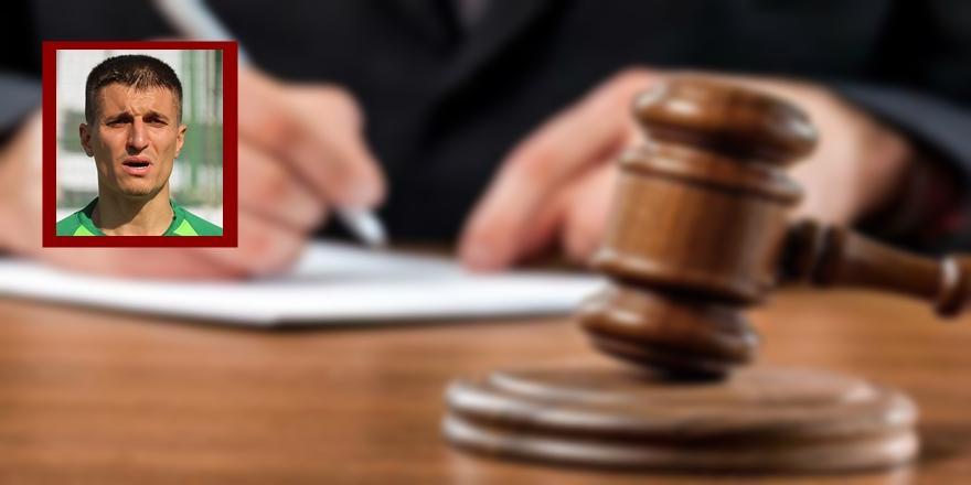 Bursa'da Oğlunu Boğduğu İddiasıyla Tutuklanan Futbolcu Hakim Karşısında