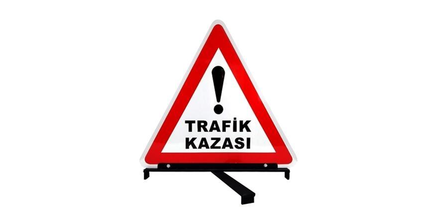 Bursa'da Kaza! TIR Sulama Kanalına Devrildi