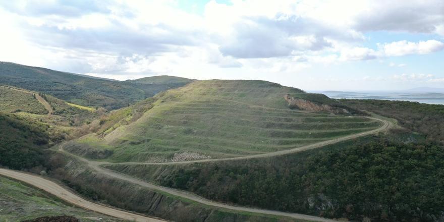 Bursa'da Eski Maden Sahaları Yeniden Ağaçlandırılıyor