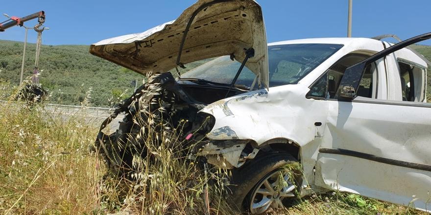 Gemlik'te Trafik Kazası! 1 Kişi Ağır Şekilde Yaralandı