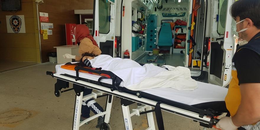 İnegöl'de Balkondan Düşen Çocuk Hastaneye Kaldırıldı