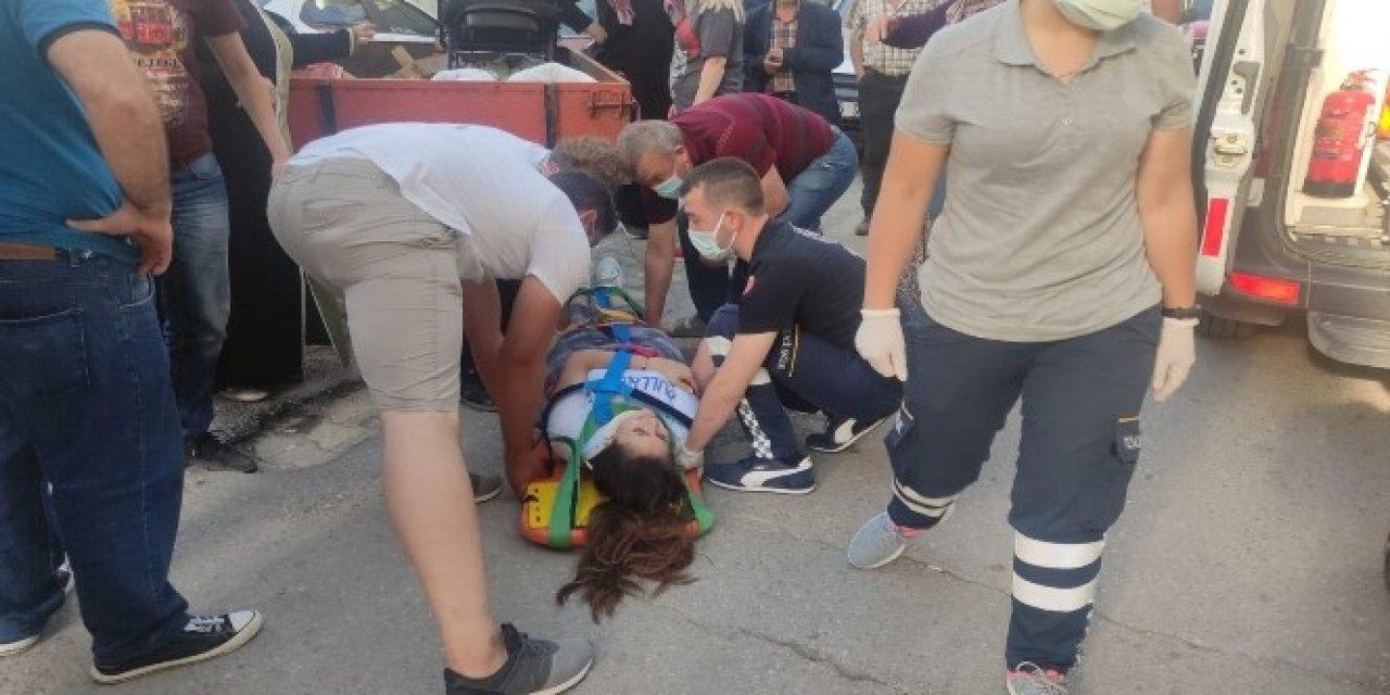 İznik'te Traktör Römorkundan Düşen Genç Kız Ağır Yaralandı!