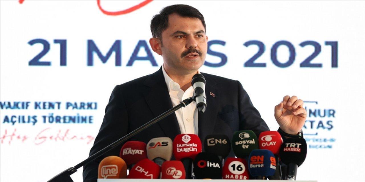 Çevre Ve Şehircilik Bakanı Kurum, Bursa'da Vakıfköy Kent Parkı Açılışında Konuştu!