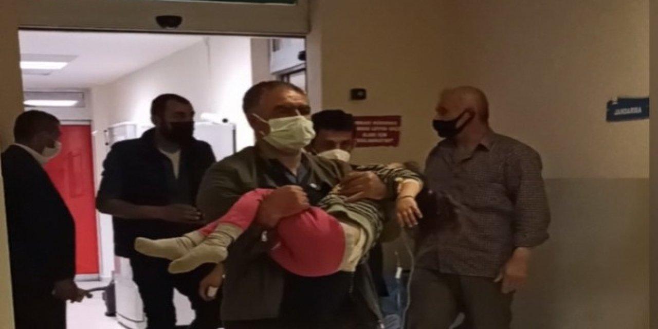 Bursa'da Sokakta Buldukları İlaçları İçen İkiz Kızlar Hastaneye Kaldırıldı!