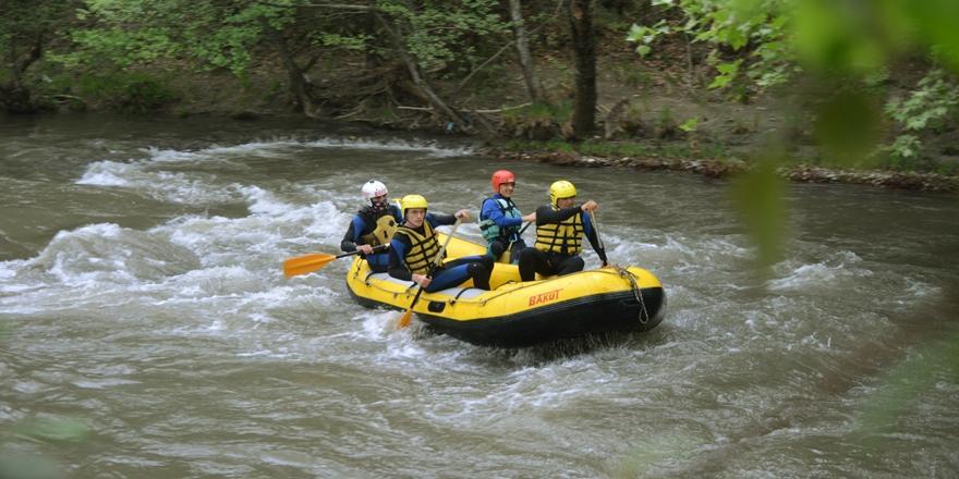 Bursa'daki Kocasu Deresi Bölgenin Rafting Merkezi Olacak