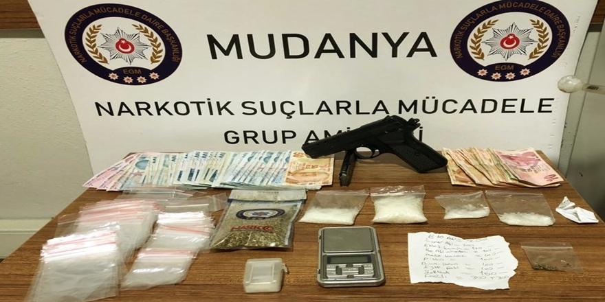 Mudanya'da Uyuşturucu Operasyonu! 4 Şüpheli Tutuklandı