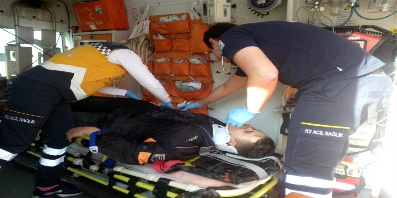 Gemlik'te Trafik Kazası: 1 Yaralı!