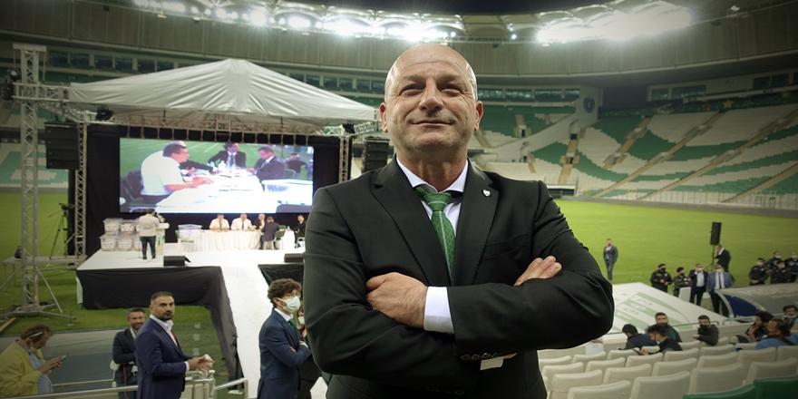Bursaspor'un Yeni Başkanı Hayrettin Gülgüler Oldu