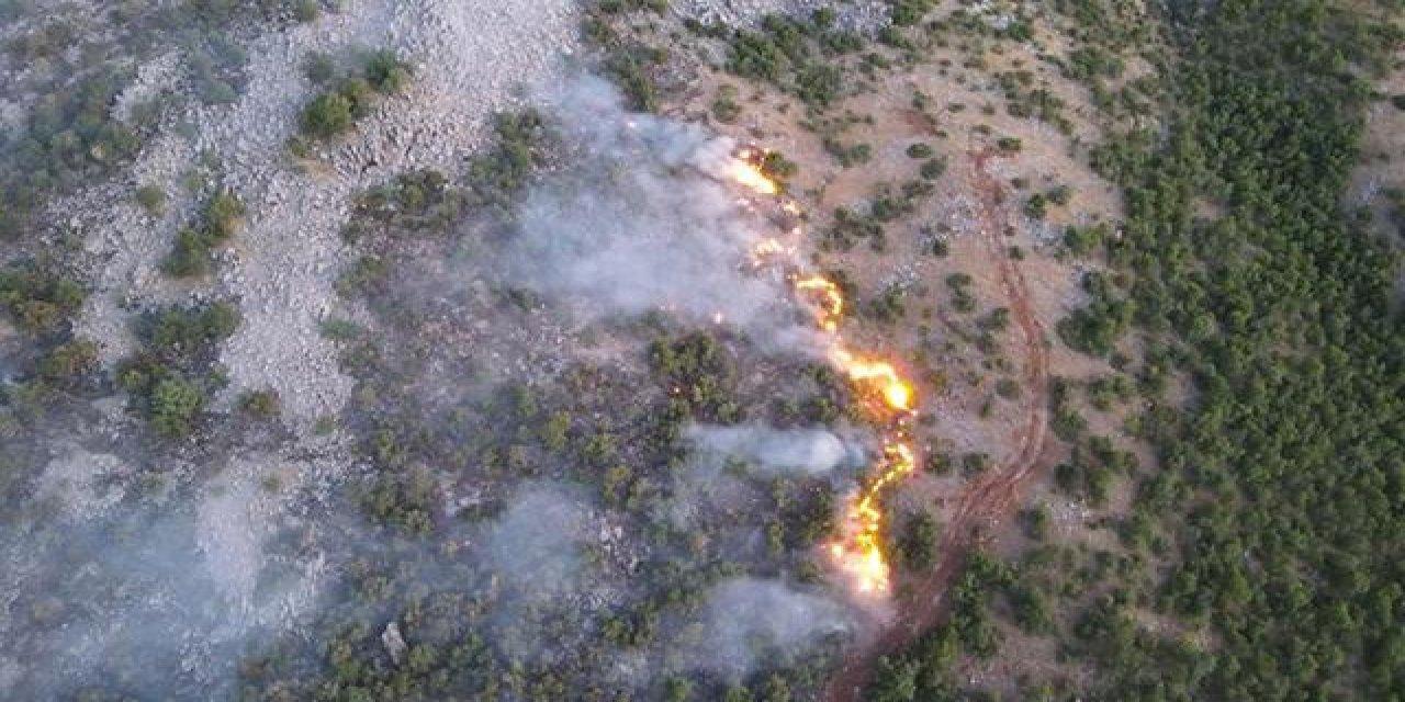Elazığ'da Yangın 4 Gündür Devam Ediyor!