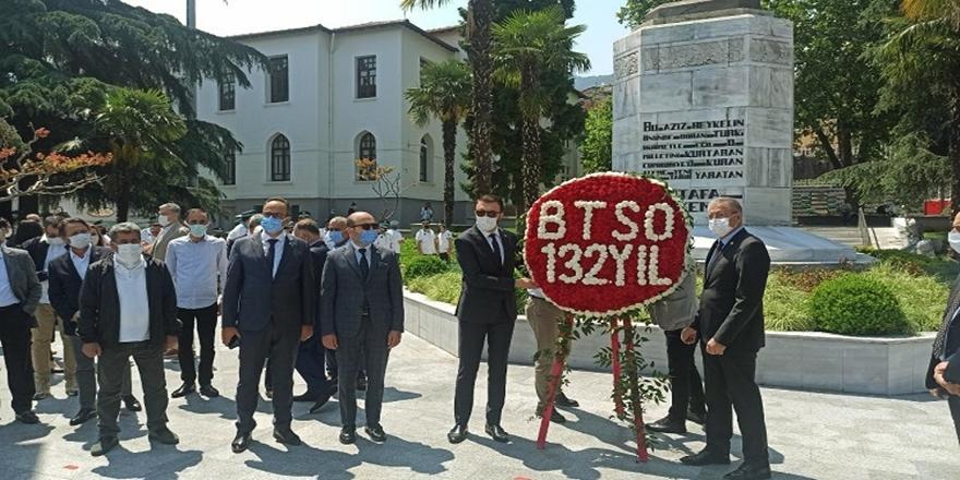 Bursa Ticaret ve Sanayi Odası'nın Kuruluş Yıl Dönümü Kutlandı