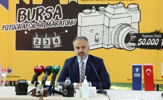 """""""Ulusal Bursa Fotoğrafçılar Maratonu"""" Düzenlenecek"""