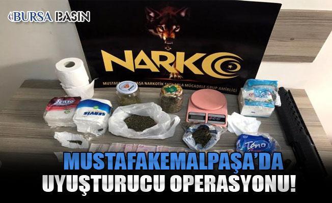 Bursa'da Düzenlenen Uyuşturucu Operasyonunda 4 Kişi Yakalandı!