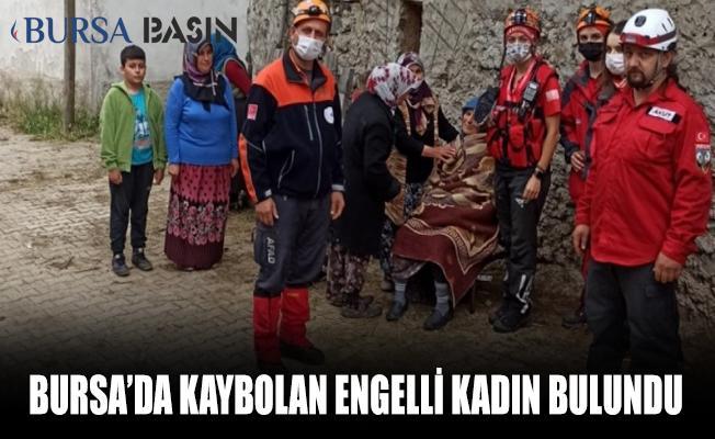 Bursa'da Kaybolan Engelli Yaşlı Kadın Bulundu