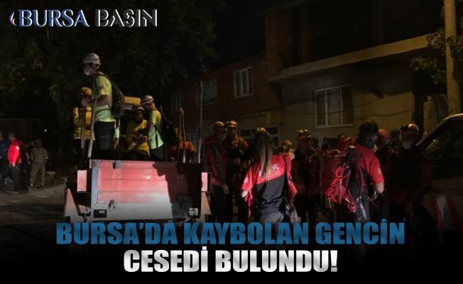 Bursa'da kaybolan gencin cesedi ormanlık alanda bulundu