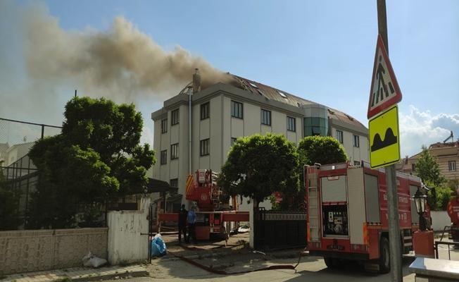 Bursa'da Öğrenci Yurdunda Yangın Çıktı!