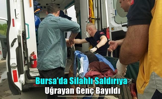 Bursa'da Tanımadığı Kişiler Tarafından Saldırıya Uğrayan Genç Hastaneye Kaldırıldı