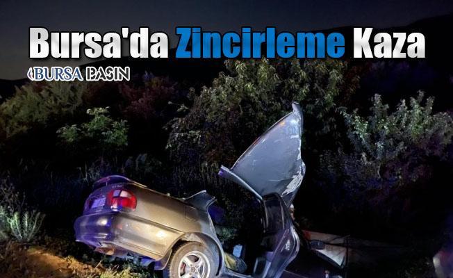 Bursa'da Zincirleme Kaza: 1 Ölü 4 Yaralı