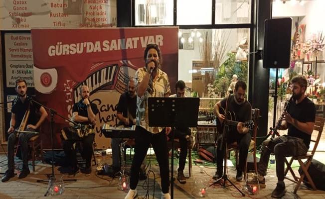 Gürsu'da Sokaklar Müzikle Renkleniyor