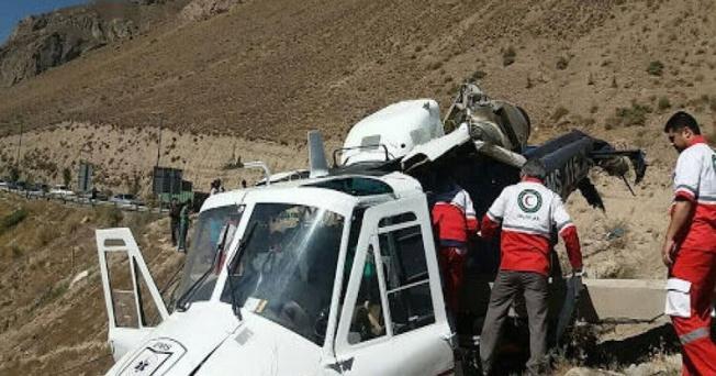 İran'da Oy Sandıklarını Taşıyan Helikopter Düştü!