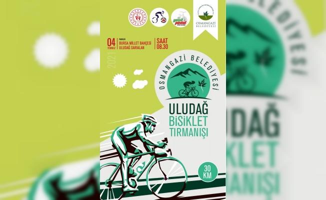 """Osmangazi Belediyesi """"Uludağ Bisiklet Tırmanışı"""" Adında Yarış Düzenlediğini Açıkladı"""