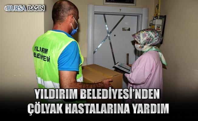 Bursa'da Çölyak Hastalarına 200 Adet Gıda Desteği Sağlandı