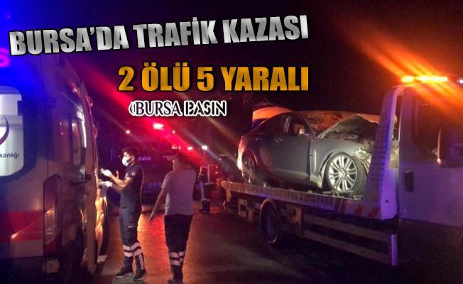 Bursa'da Trafik Kazasında Ölü Sayısı 2'ye Yükseldi
