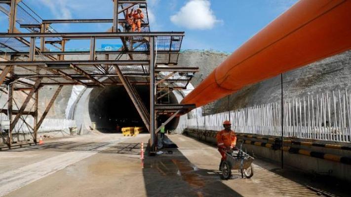 Çin'de İnşa Edilen Tünelde 14 İşçi Kayboldu