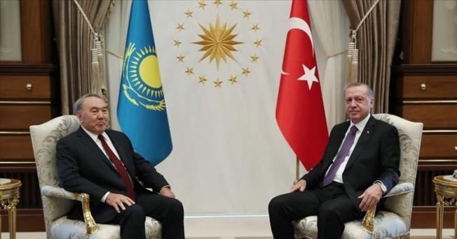 Cumhurbaşkanı Erdoğan Kazakistanlı Mevkidaşı Telefonla Arayarak Doğum Gününü Kutladı