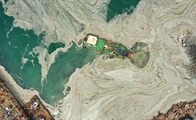 Marmara Denizinde Müsilaj Temizliği Devam Ediyor!