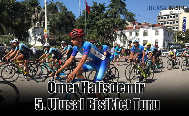 Ömer Halisdemir 5. Ulusal Bisiklet Turu Katılımcıları Bursa'da!