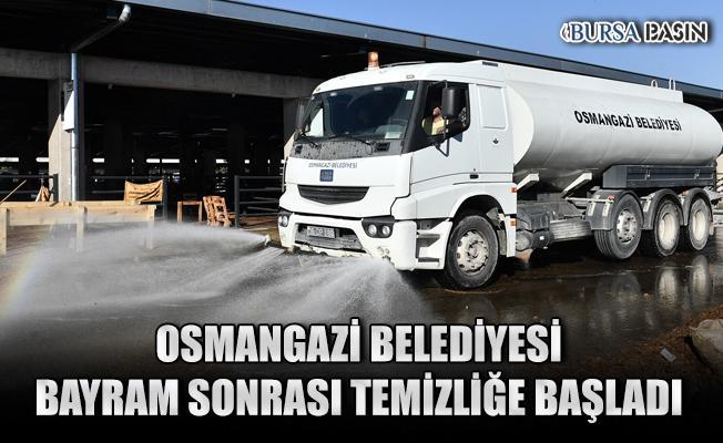 Osmangazi'de Kurban Bayramı Temizliğine Başlandı