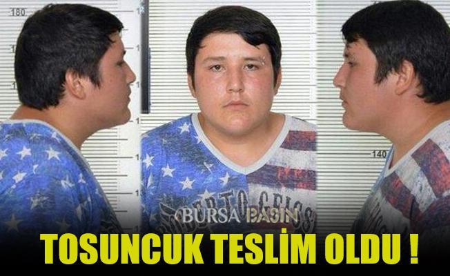 Tosuncuk Lakaplı Mehmet Aydın Teslim oldu