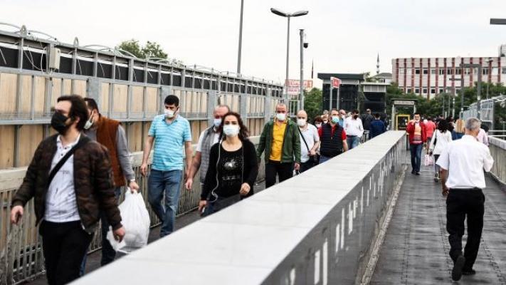 Türkiye'de Korona Virüs Vaka Sayılarında Düşüş Devam Ediyor