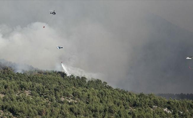 Orman Yangınları İçin 6 Ülkeden 18 Hava Aracı Gönderildi