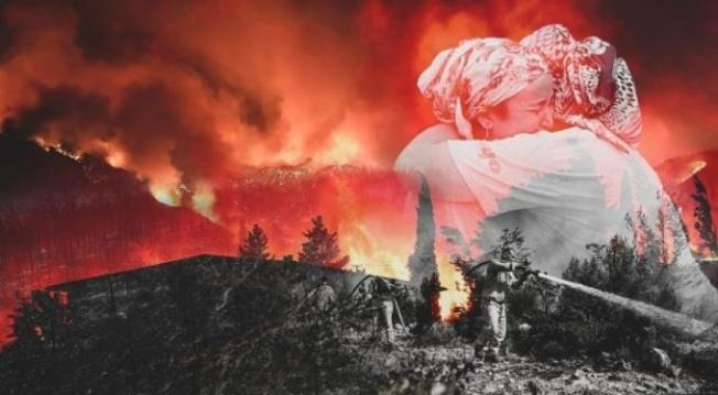 Türkiye'de ki Yangınları PKK Üstlendi