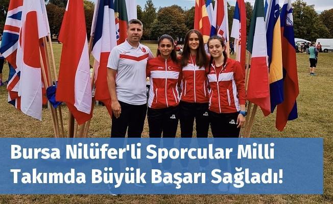 Bursa Nilüfer'li Sporcular Milli Takımda Büyük Başarı Sağladı!