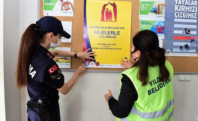 Bursa Yıldırım Belediyesinden Uyuşturucuya Karşı Destek