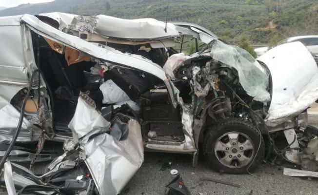 Bursa'da Şaşırtan Kaza! Burnu Bile Kanamadı