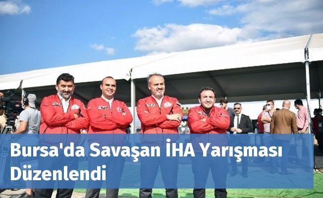 Bursa'da Savaşan İHA Yarışması Düzenlendi