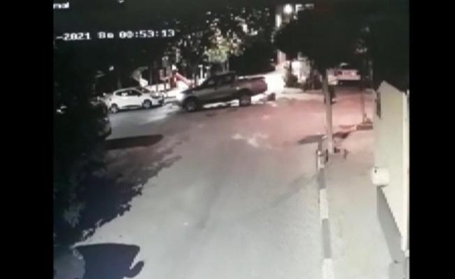 Bursa'da Sürücü Köpeğe Çarpıp Kaçtı