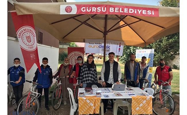 Gürsü Belediyesinden Gençlere Avrupa Işığı