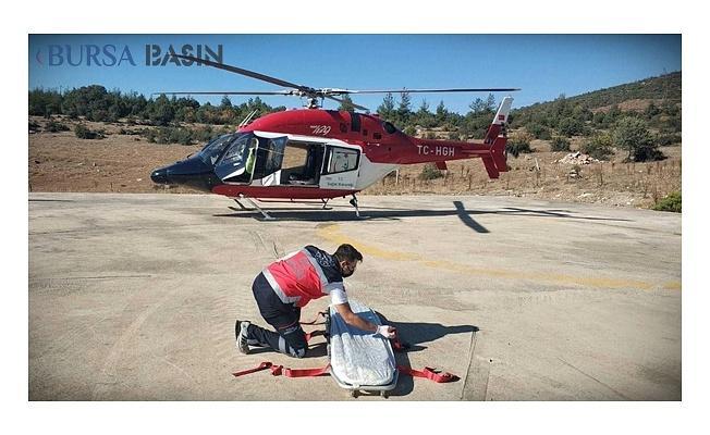 Helikopter Ambulans Aynı Gün İçindeki Hastalar İçin Havalandı