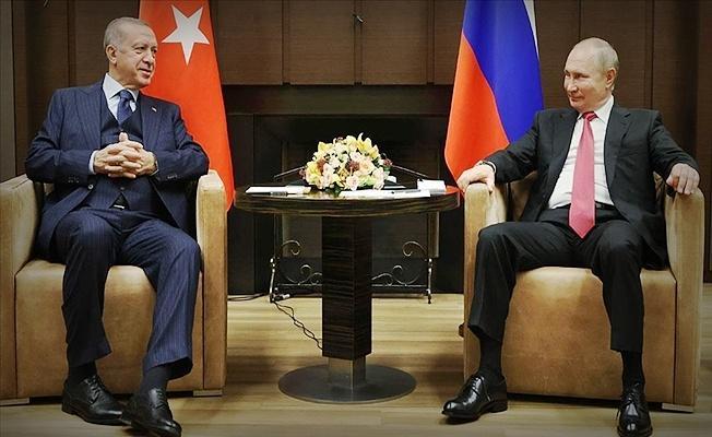 Vladimir Putin: Görüşme çok yararlı ve kapsayıcı geçti