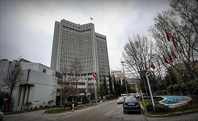 10 ülkenin diplomatik Misyon şefi Dışişleri Bakanlığında