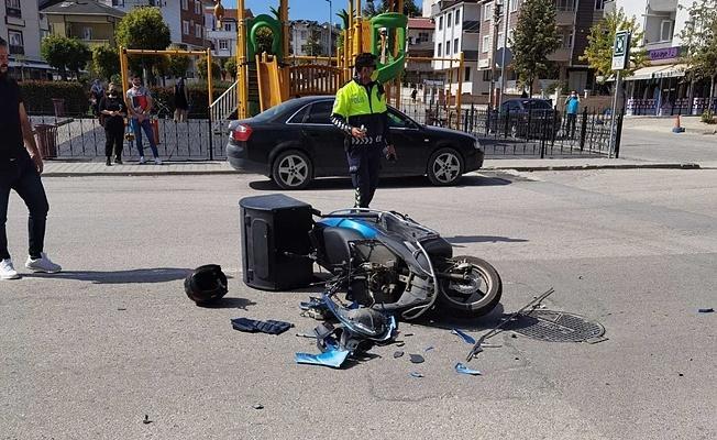 Bursa'da Kaza Yapan Kadın Önce Kaçtı Sonra Geri Geldi