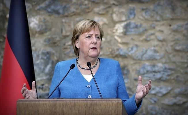 Almanya Başbakanı Merkel: Cumhurbaşkanı Erdoğan'la ortak basın toplantısı