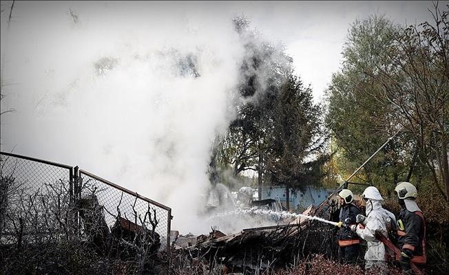 Ankara MTA yerleşkesinde korkutan patlama