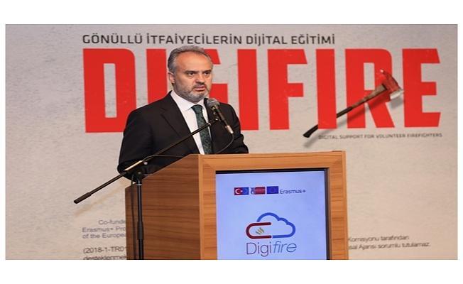Bursa Büyükşehir Belediyesinden Gönüllü İtfaiyecilik