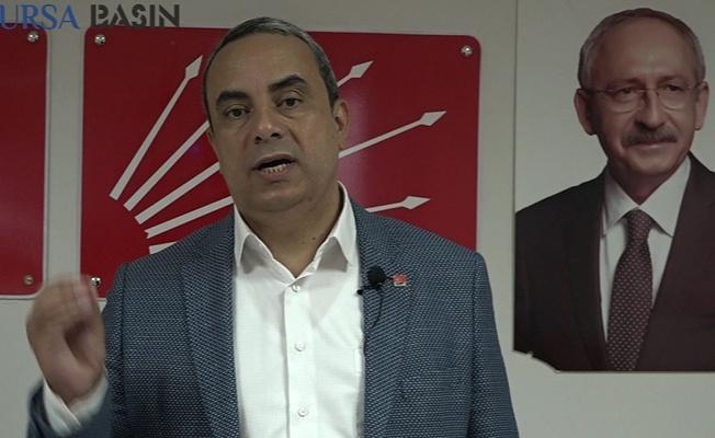 Bursa CHP İl Başkanı Karaca'dan Açıklamalar